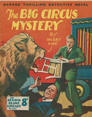 The Big Circus Mystery by Hilary King [Sexton Blake Library #280]