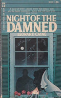 Night of the Damned by Leonard Caine VERY RARE PAPERBACK