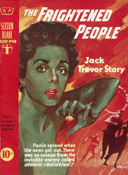 The Frightened People by Jack Trevor Story [Sexton Blake Library #418]