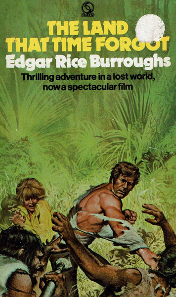 The Land the Time Forgot by Edgar Rice Burroughs [Film Tie-In]