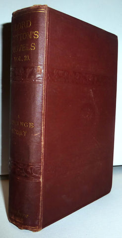 A Strange Story [Knebworth Edition Vol XX] by The Right Hon. Lord Lytton  1875