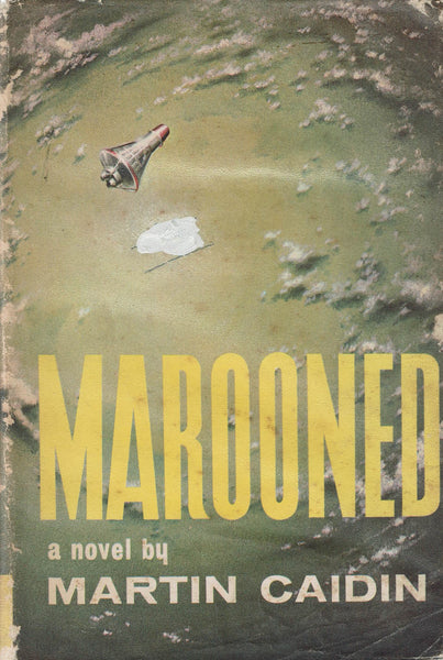 Marooned by Martin Caidin FIRST GB EDITION