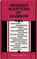 Modern Masters of Horror by Frank Coffey (ed)