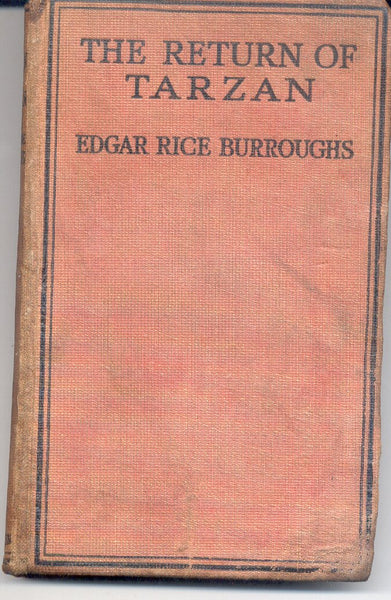 The Return of Tarzan by Edgar Rice Burroughs