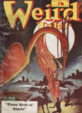 "Weird Tales no. 12 ""Flame Birds of Angala"" by D. McIlwrath (ed)"