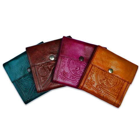 Moroccan Leather Wallet