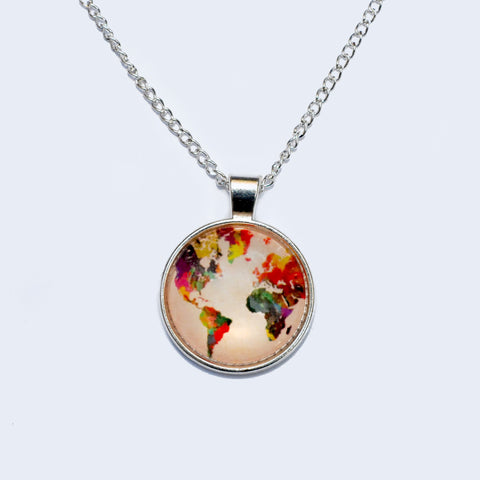 If You're Mappy and You Know It | Necklace
