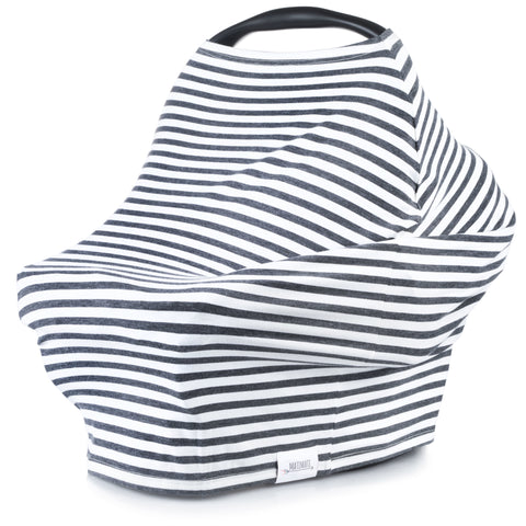 5-in-1 Carseat & Nursing Cover (Classic Stripe)