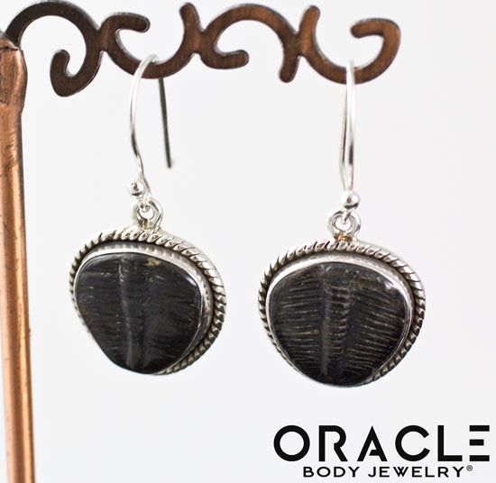 Sterling Silver Trilobite Earrings