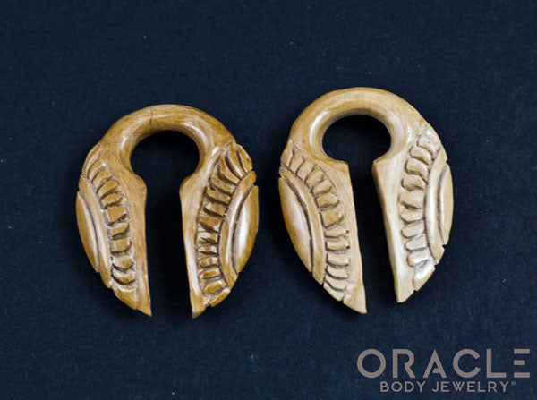 0g (8mm) Fossilized Mammoth Ivory Split Sun Weights
