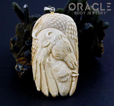 Nature Carved Pendant