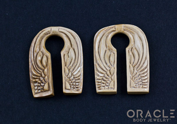 00g (9.5-10mm) Fossilized Mammoth Ivory Wing Split Weights