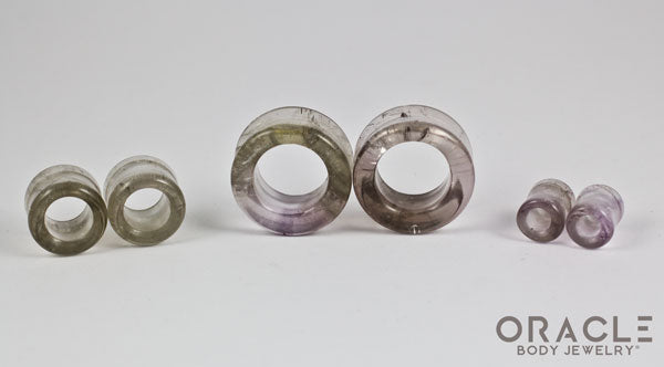 Smoky Quartz Eyelets