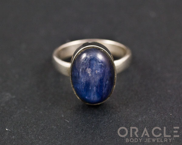 Sterling Silver Kyanite Ring Size 6