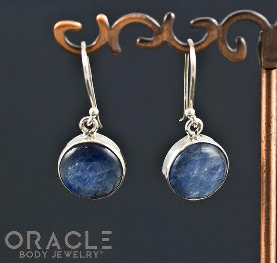 Sterling Silver Kyanite Standard Earring