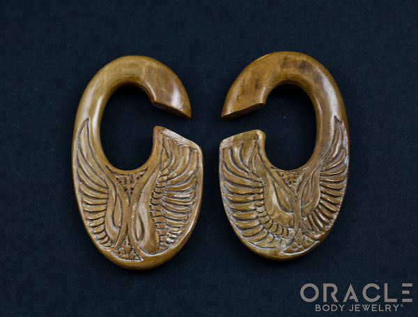 "7/16"" (11mm) Fossilized Mammoth Ivory C-Shape Wing Weights"