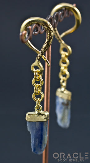 Crossover With Gold Capped Kyanite