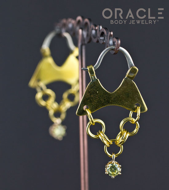 Mini Dangles with Peridot