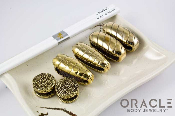 Limited Edition Brass Sushi Weights Set