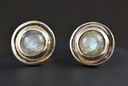 Sterling Silver Labradorite Earrings