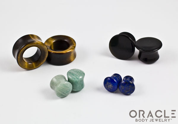"Oracle Mystery Blemished Plugs (10g to 1-1/4"")"