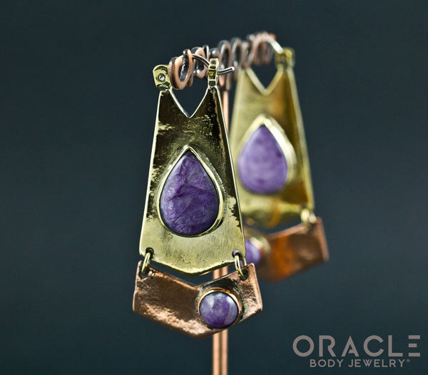Avalon with Charoite