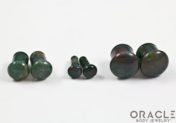 Bloodstone Single Flare Plugs