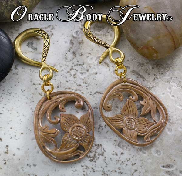 Crossover with Fossilized Mammoth Ivory Dangle