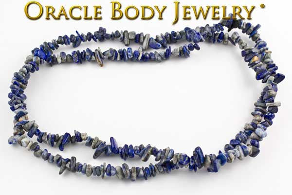 Sodalite Chip Necklace