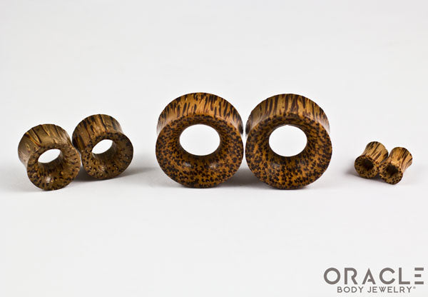Coconut Wood Eyelets / Tunnels