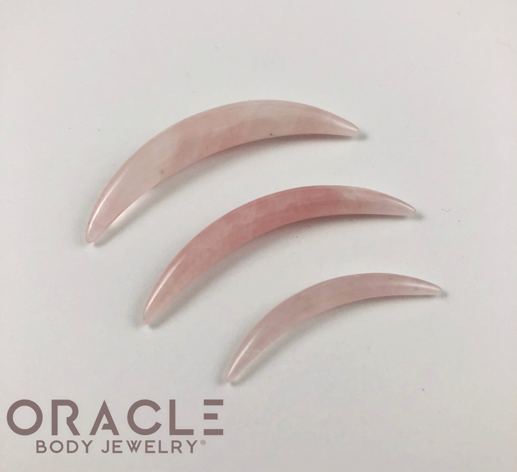 Rose Quartz Septum Tusk