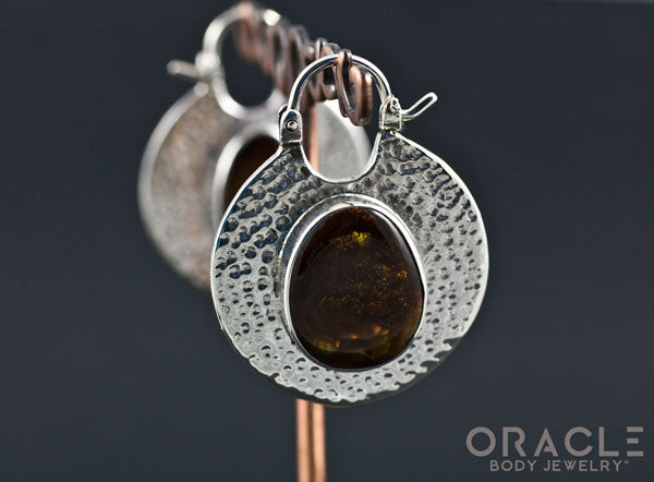 Solid Silver Kiki with Fire Agate