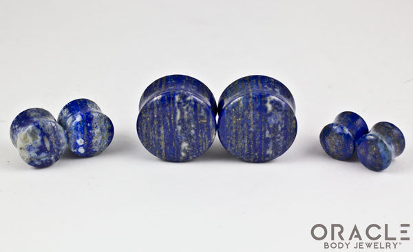 Lapis Double Flare Plugs