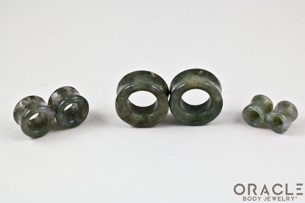 Moss Agate Eyelets