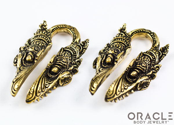 Ophidian Brass Weights