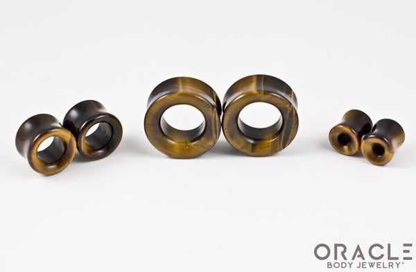Yellow Tiger Eye Eyelets