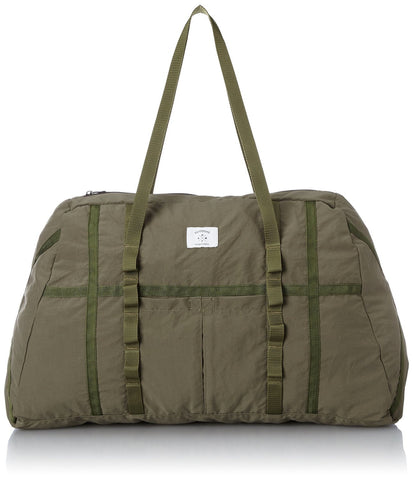 Ficouture Washed Nylon Packable Military Duffle