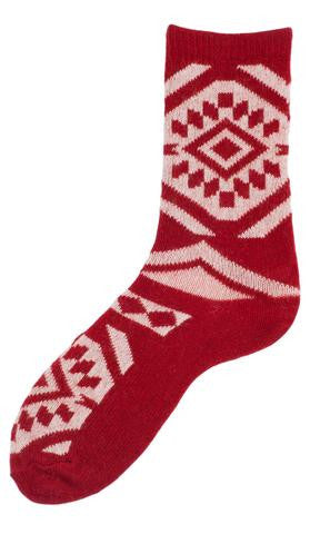 lisa b. aztec socks