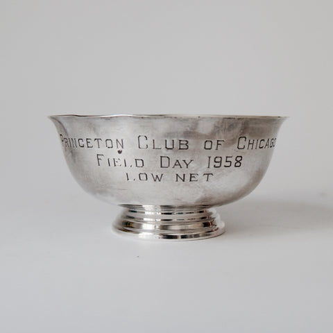 Princeton Club of Chicago Silver Trophy Bowl