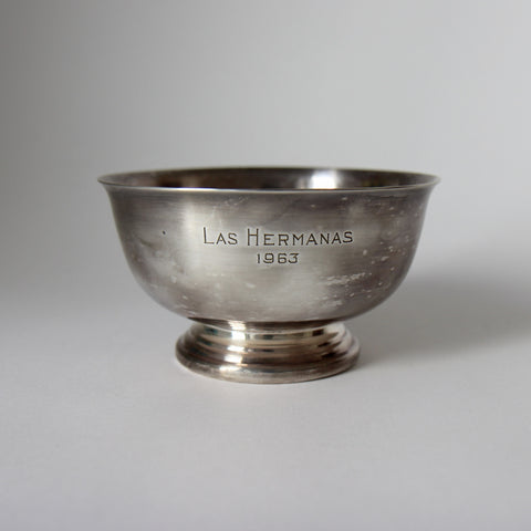 Las Hermanas 1963 Trophy Bowl