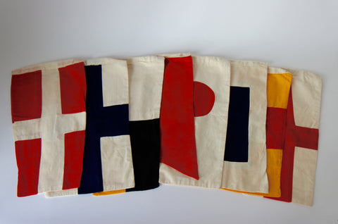 Cloth Maritime Signal Flags