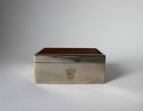 English Cigarette Box