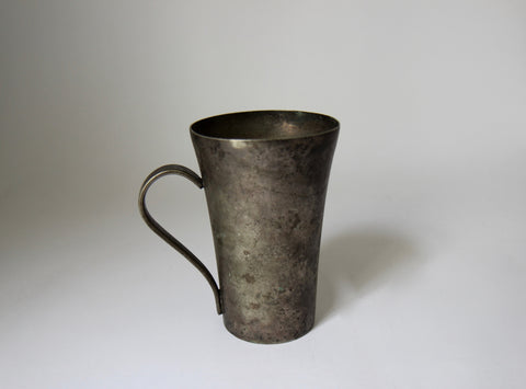 Nickel Plated Mug