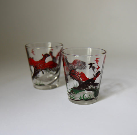 Pheasant Shot Glasses