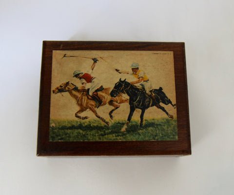 Wooden Polo Box