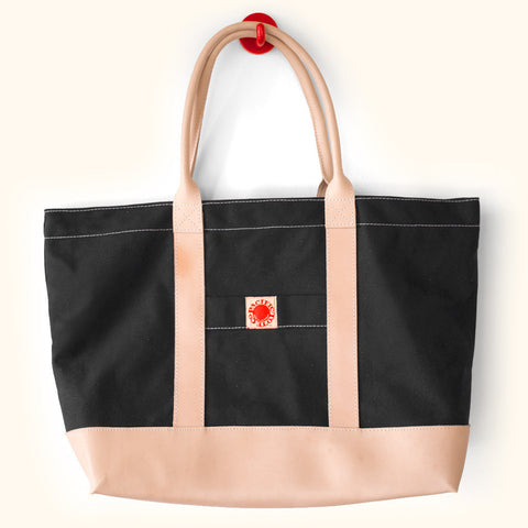 Pacific Tote Company Leather & Canvas Big Sur Tote