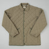 The Hill-Side Quilted Ueno Jacket in Sage Green
