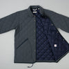 The Hill-Side Quilted Ueno Jacket in Slate Blue