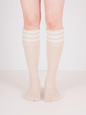 lisa b. fold over knee high socks