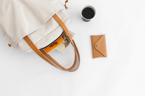 Joshu+Vela Canvas Zip Utility Bag